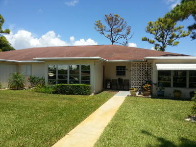delray beach Single Family Home For Sale: 5245 NW 3rd Street #C