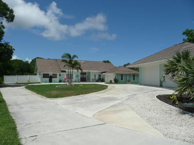 Jensen Beach Single Family Home Contingent: 815 NE Stokes Terrace