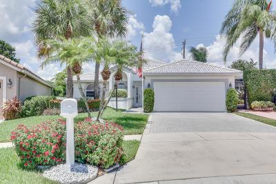 Boynton Beach Single Family Home For Sale: 6057 Bay Isles Drive