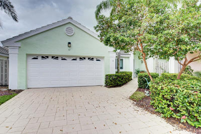Palm Beach Gardens Single Family Home For Sale: 12 Commodore Place