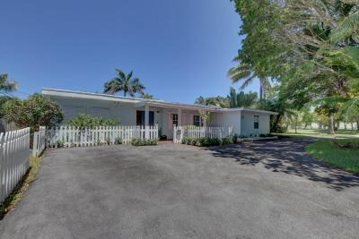 Delray Beach Single Family Home For Sale: 1301 Lake Drive