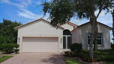 Port Saint Lucie Single Family Home For Sale: 338 NW Millpond Lane