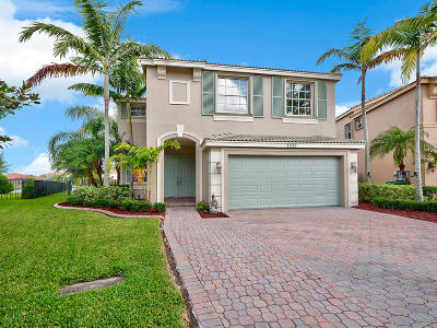 Port Saint Lucie Single Family Home For Sale: 11113 SW Springtree Terrace