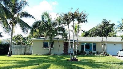 Boynton Beach Single Family Home For Sale: 226 SW 13th Avenue