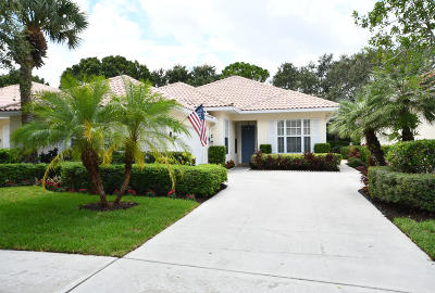 Palm Beach Gardens Single Family Home For Sale: 417 Kelsey Park Drive