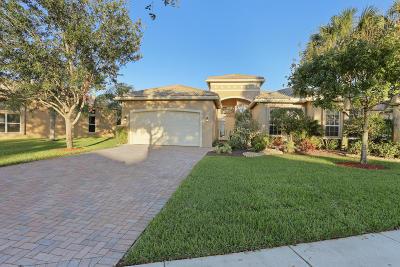 Lake Worth Single Family Home For Sale: 8651 Tierra Lago Cove