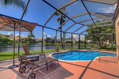 Boca Raton Single Family Home For Sale: 18116 Blue Lake Way