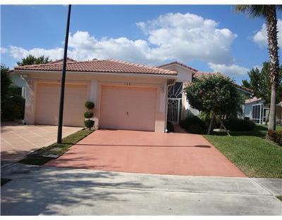 Boynton Beach Single Family Home For Sale: 138 Sausalito Drive