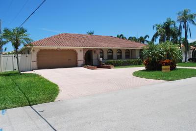 Lighthouse Point Single Family Home For Sale: 4450 NE 30 Terrace