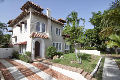 West Palm Beach Single Family Home For Sale: 615 Claremore Drive