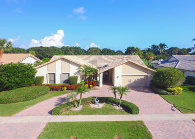 Delray Beach Single Family Home For Sale: 16606 Ironwood Drive