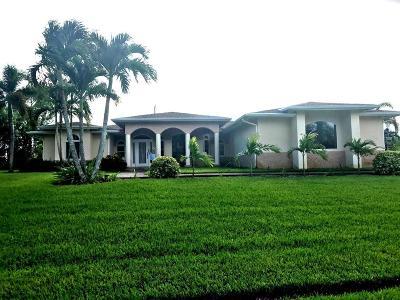 Port Saint Lucie Single Family Home For Sale: 142 SW Hawthorne Circle