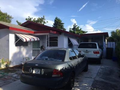 West Palm Beach Single Family Home For Sale: 640 53 Street