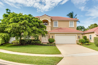 Lake Worth Single Family Home For Sale: 6103 Indian Forest Circle