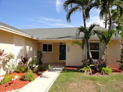 Jupiter Single Family Home For Sale: 6223 Ungerer Street