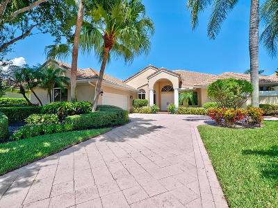 Palm Beach Gardens Single Family Home For Sale: 28 Saint James Drive
