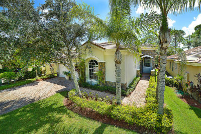 Palm Beach Gardens Single Family Home For Sale: 9654 Osprey Isles Boulevard
