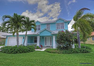 Hobe Sound Single Family Home For Sale: 9125 SE Mystic Cove Terrace