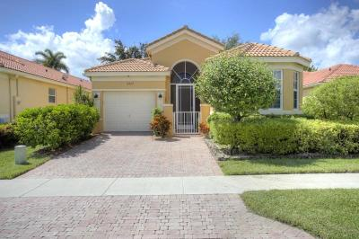 Delray Beach Single Family Home For Sale: 15527 Fiorenza Circle
