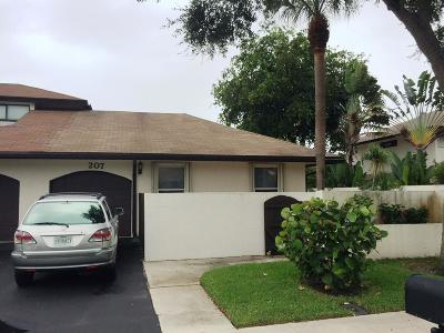 Delray Beach Single Family Home For Sale: 207 SW 27th Terrace