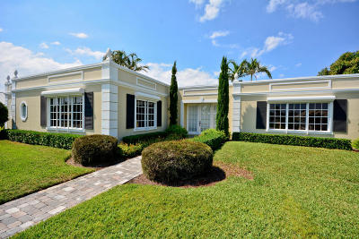 Singer Island Single Family Home For Sale: 1210 Bimini Lane