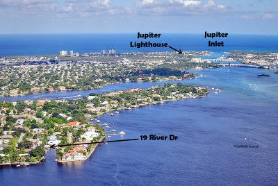 Tequesta Country Club Single Family Home Contingent: 19 River Drive
