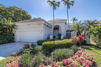 Palm Beach Gardens Single Family Home For Sale: 101 Emerald Key