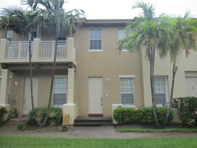 Boynton Beach Townhouse For Sale: 2604 NW 6th Court