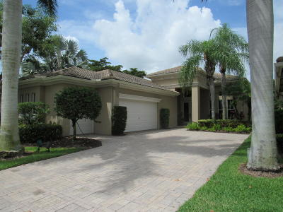 Palm Beach Gardens Rental For Rent: 110 Orchid Cay