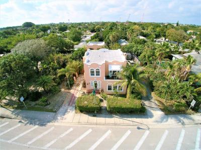 Lake Worth Single Family Home For Sale: 2507 Federal Highway #1