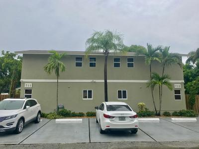 Fort Lauderdale Multi Family Home For Sale: 711-713 NE 14th Street
