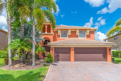 Royal Palm Beach Single Family Home Contingent: 2214 Ridgewood Circle