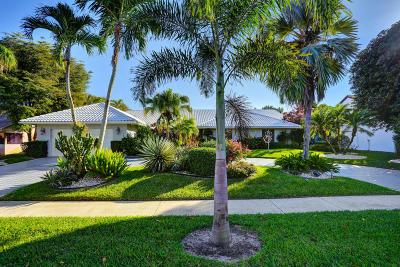 Boca Raton Single Family Home For Sale: 4199 Bocaire Boulevard