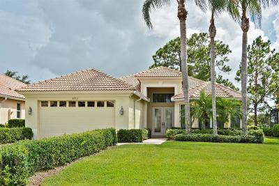 Port Saint Lucie Single Family Home For Sale: 8933 First Tee Road