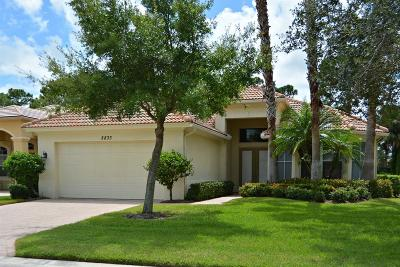 Port Saint Lucie Single Family Home For Sale: 8833 First Tee Road