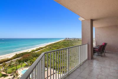 Juno Beach Condo Contingent: 700 Ocean Royale Way #Ph #1