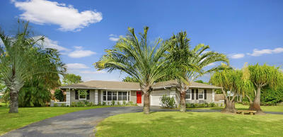 Jupiter Single Family Home For Sale: 80 River Drive