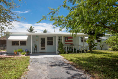 Pompano Beach Single Family Home For Sale: 1366 NE 27th Street