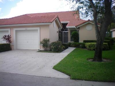 Boynton Beach Single Family Home For Sale: 7731 Majestic Palm Drive