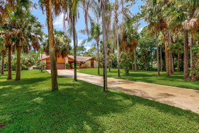 Jupiter Single Family Home Contingent: 9334 166th Way