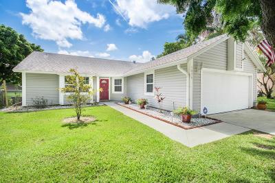 Boynton Beach Single Family Home For Sale: 1826 Banyan Creek Circle