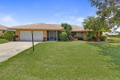 Palm Beach Gardens Single Family Home For Sale: 3310 Pine Hill Trail