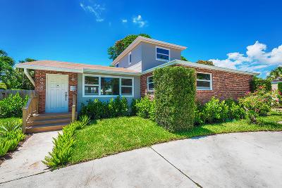 West Palm Beach Single Family Home For Sale: 338 Hunter Street