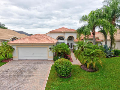Delray Beach Single Family Home For Sale: 13149 Alhambra Lake Circle