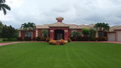Lake Worth Single Family Home For Sale: 8885 S Kendale Circle
