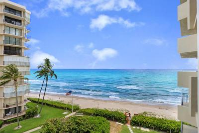 Singer Island Condo For Sale: 5460 Ocean Drive #5-D