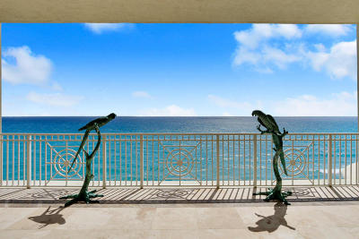 One Singer Island Condo For Sale: 5310 Ocean Drive #801