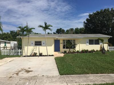 Hobe Sound Single Family Home Contingent: 7269 SE Hobe Terrace