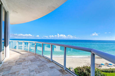 Singer Island Townhouse For Sale: 4600 Ocean Drive #Th-607