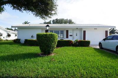 Boynton Beach Single Family Home For Sale: 2190 SW 19th Avenue